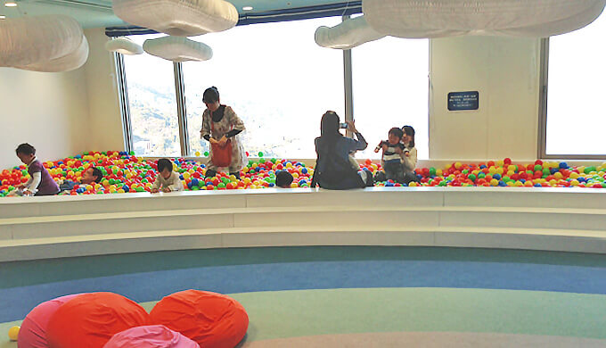 リゾナーレ熱海 ボールプール