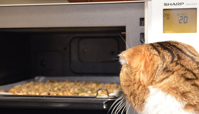ナッツ オーブンで ロースト