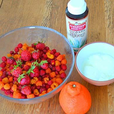 イチゴジュース 材料