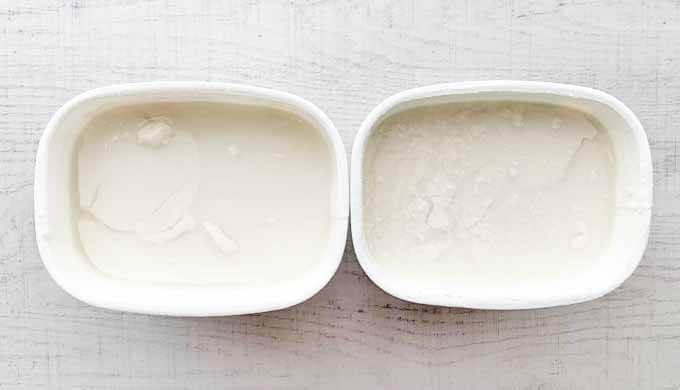 豆乳グルト開封